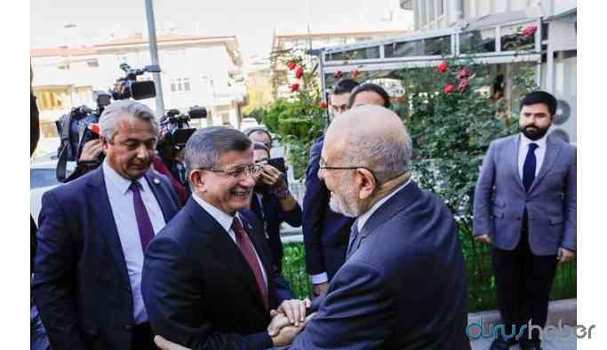 Ahmet Davutoğlu'ndan 'yeni parti' açıklaması