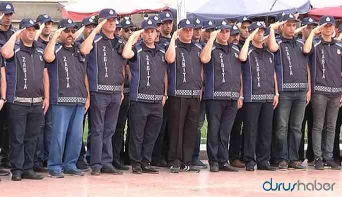 AKP'li belediye 5 zabıtayı 30 günde müdür yaptı!
