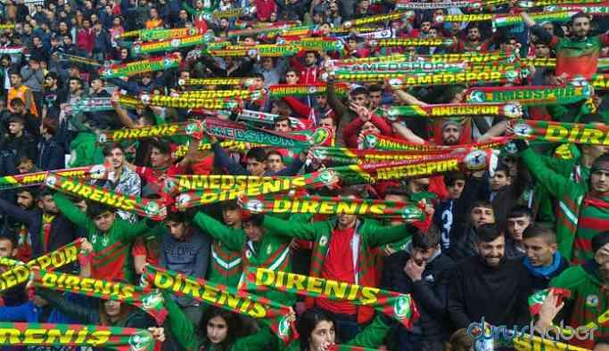 Amed Spor 'taraftar yasağı' rekorunu kırdı