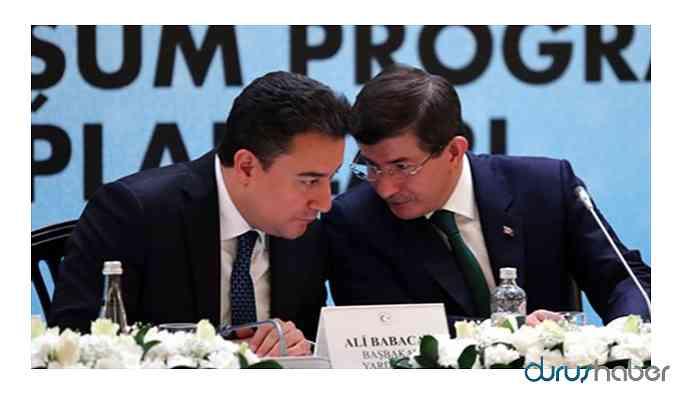 Babacan ekibi: Parti ismindeki sözcük belli oldu