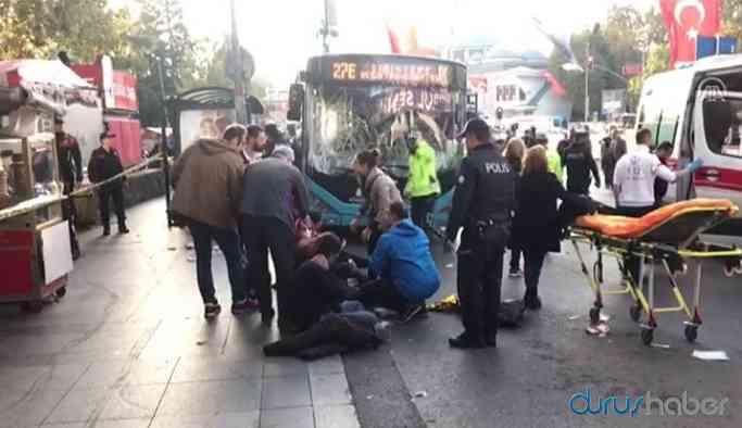 Beşiktaş'ta otobüs sürücüsü dehşet saçtı! Çok sayıda yaralı var!