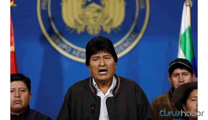 Bolivya'da ABD darbesi: Morales istifa etti