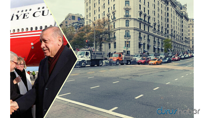 Erdoğan'a ABD'de 'Gökçek' tarzı güvenlik önlemi