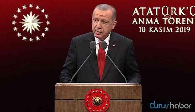 Erdoğan:En büyük katkıyı başında bulunduğum hükümetler yapmıştır