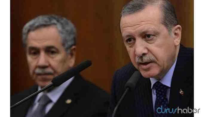 Erdoğan'dan da Arınç'a sert tepki: Esefle karşıladım