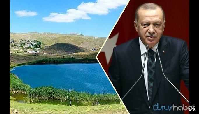 Erdoğan'dan Dipsiz Göl tepkisi