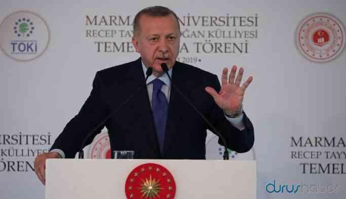 Erdoğan'dan Macron'a sert sözler: Önce beyin ölümünü kontrol ettir