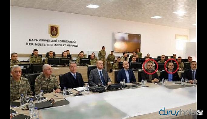 Harekat merkezine AKP Sözcüsü ile AKP Genel Başkan Yardımcısı da girdi