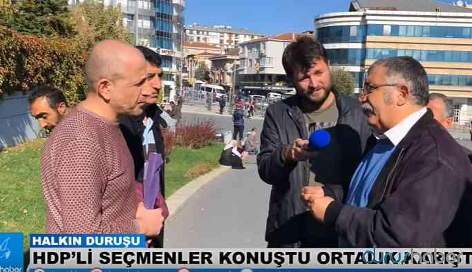 HDP'li Seçmenler Konuştu Ortalık Karıştı