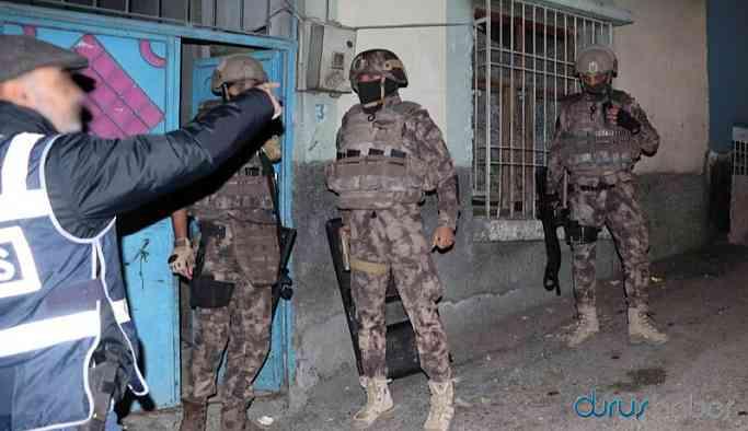 HDP'ye 500 polisle helikopterli operasyon: Çok sayıda gözaltı