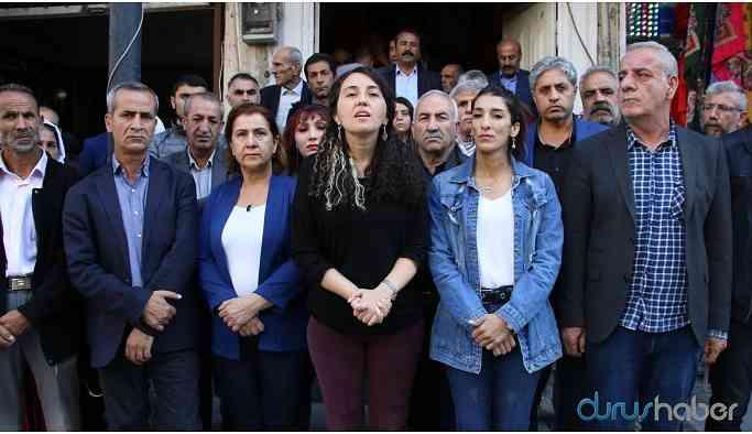 Kızıltepe'de kayyum protestosu