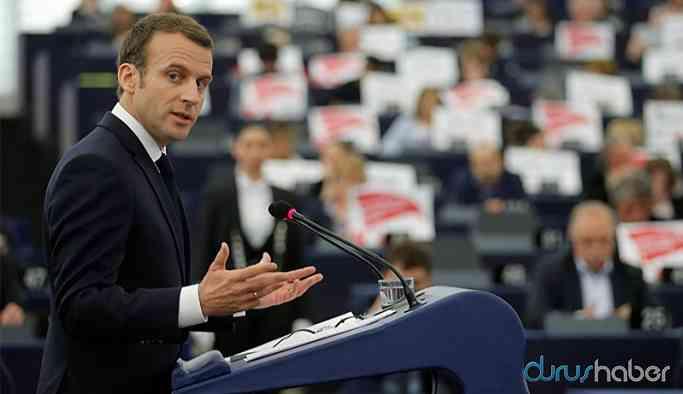 Fransa Cumhurbaşkanı Macron'dan Türkiye çıkışı!