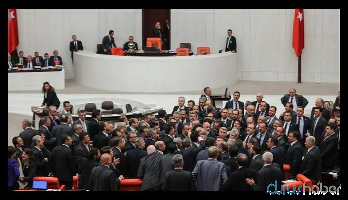 "Meclis'te tansiyon yükseldi: ""hadsiz"", ""terörist, ""alnını karışlarız""…"