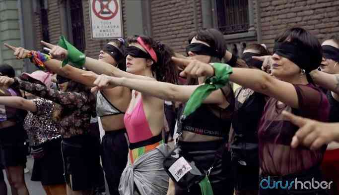 Şilili kadınların başlattığı protestolar tüm dünyaya yayılıyor