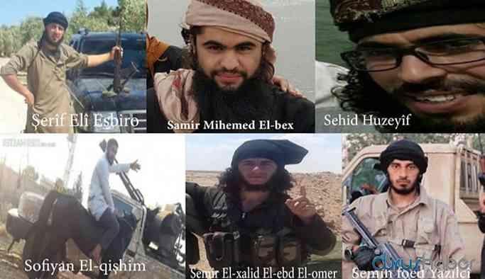 Suriye Milli Ordusu içinde yer alan IŞİD'lilerin listesi yayınlandı