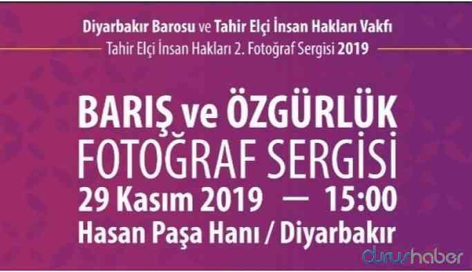Tahir Elçi Fotoğraf Sergisi'ne izin verilmedi
