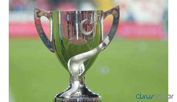 Türkiye Kupası eşleşmeleri belli oldu