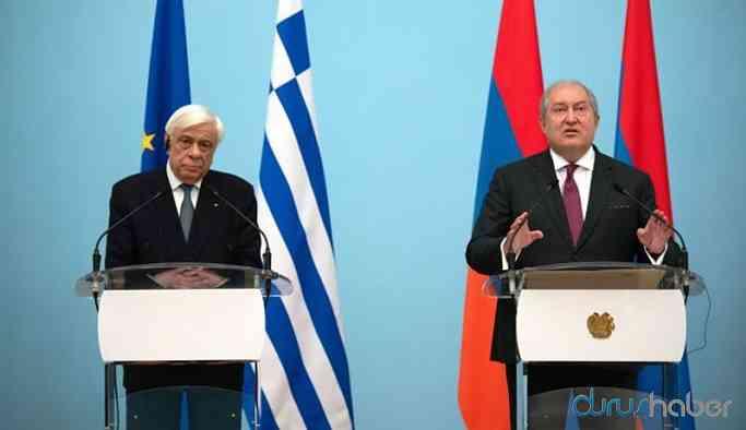 Yunanistan Cumhurbaşkanı Ermenistan'da: Türkiye özür dilemeli