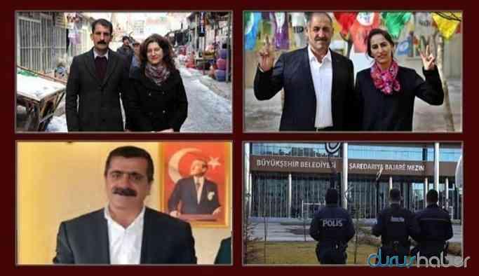 3 Belediye Eş Başkanı tutuklandı