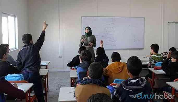 830 Suriyeli öğretmen atandı