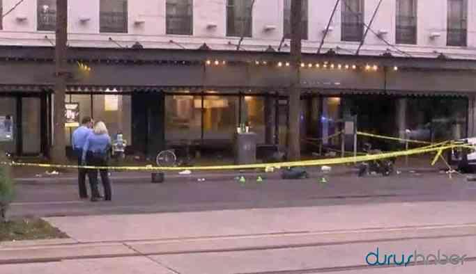 ABD'de silahlı saldırı: 11 yaralı