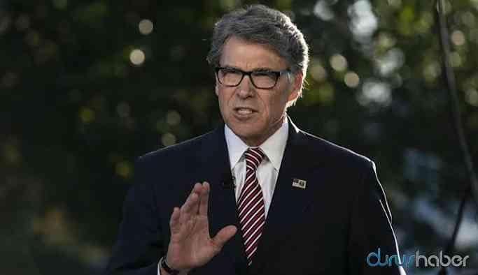 ABD Enerji Bakanı Perry istifa etti