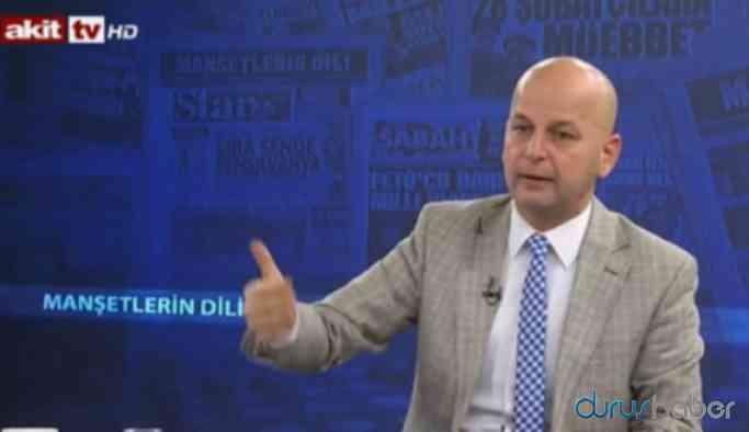 Akit TV sunucusundan Cumhuriyet gazetesine 'el bombası' tehdidi