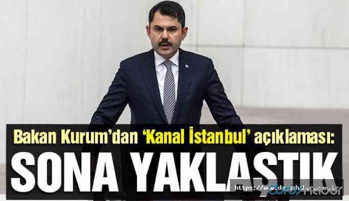 Akp İktidarından Kanal İstanbul açıklaması
