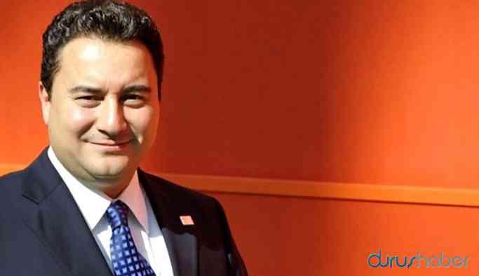 Ali Babacan'ın partisi için tarih verildi