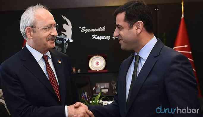 CHP heyeti Selahattin Demirtaş'ı ziyaret etti