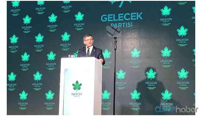 Davutoğlu partisinin kuruluşu sonrası ilk kez konuşuyor! İşte çarpıcı detaylar..