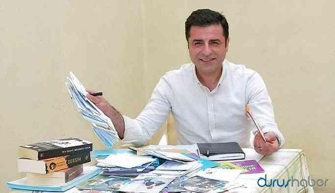 Demirtaş'tan sağlık durumu hakkında mesaj