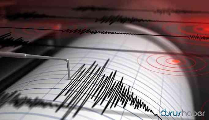 Dersim'de korkutan deprem