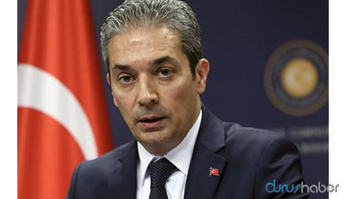 Dışişleri Bakanlığı'ndan Avrupa Konseyi'ne 'Doğu Akdeniz' tepkisi