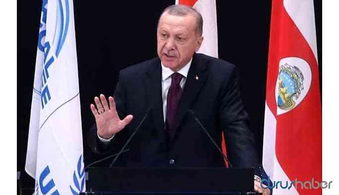Cumhurbaşkanı Erdoğan: İdlib'den 50 bin insan topraklarımıza doğru geliyor