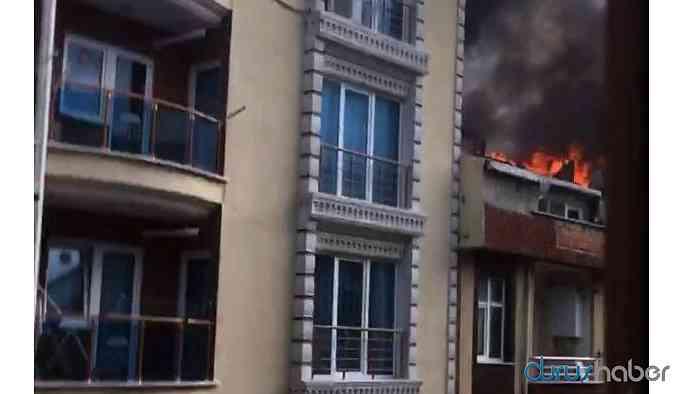 Kiracı ev sahibine kızdı evi yaktı!