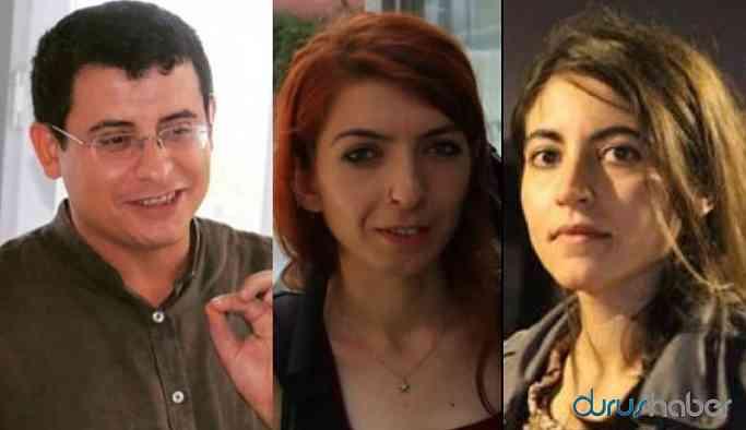 Gözaltındaki 3 gazeteci adliyeye sevk edildi