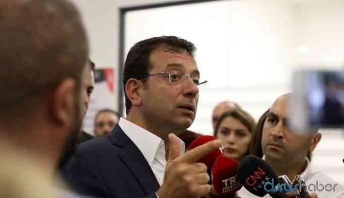 İBB Başkanı: Kimse 3 çocuk babası Ekrem İmamoğlu'na 'Kanal İstanbul'u yapıyoruz' diye dayatamaz