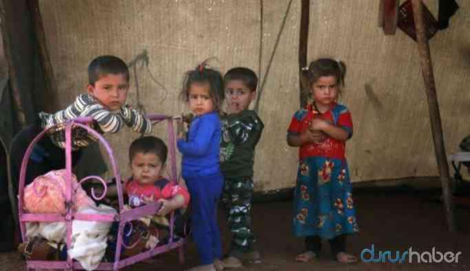 İdlib'ten göç edenlere 150 çadır