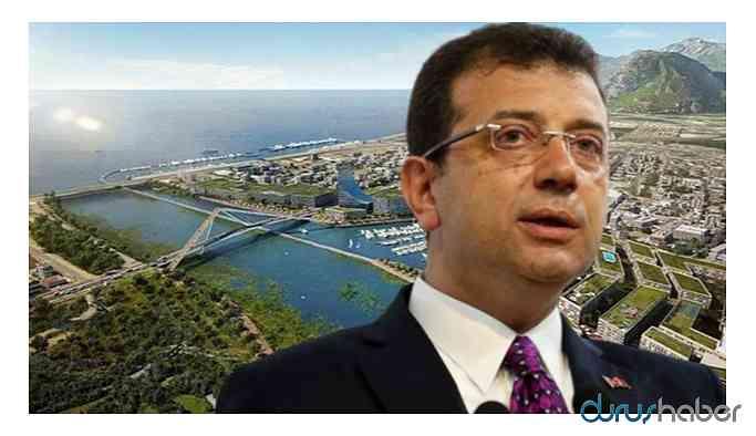 İmamoğlu'ndan Kanal İstanbul hakkında flaş açıklama! Gerekirse...