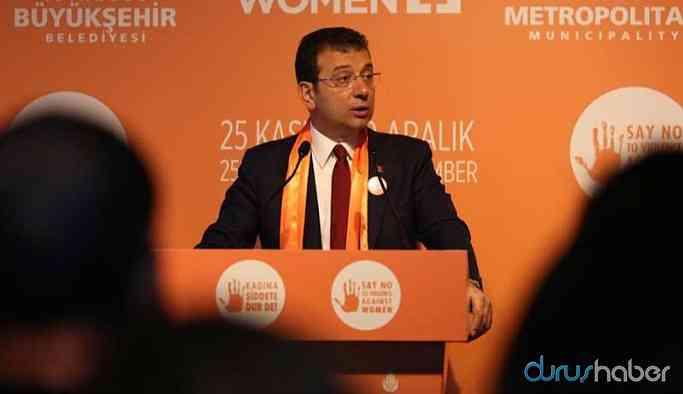 İmamoğlu: Ya kanal ya İstanbul