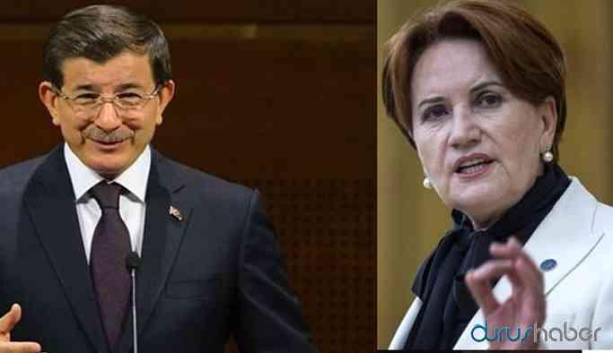 İYİ Parti'de Ahmet Davutoğlu ayrışması