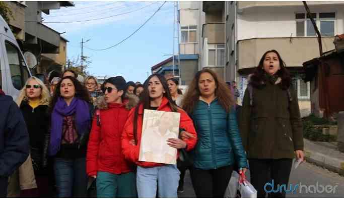 Şiddete karşı yürüdüler: Var olmaya devam edeceğiz