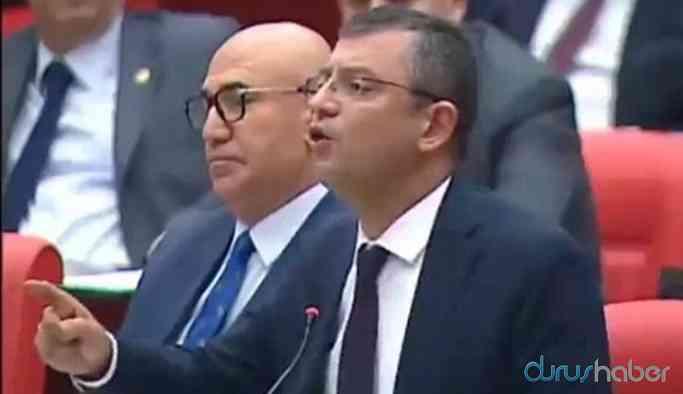 Video | Meclis'te tansiyon yükseldi! CHP'li Özgür Özel açtı ağzını yumdu gözünü