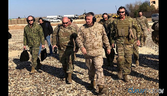 ABD'li komutan Mazlum Kobani ile görüştü