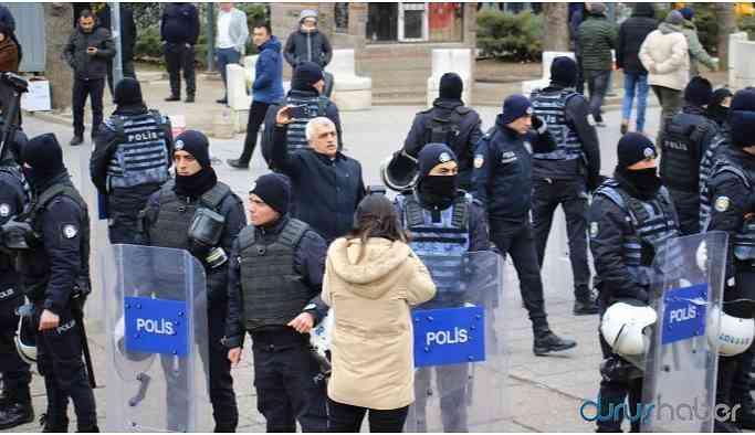 'Adalet' yürüyüşüne müdahale: Vekil darp edildi, çok sayıda kişi gözaltına alındı