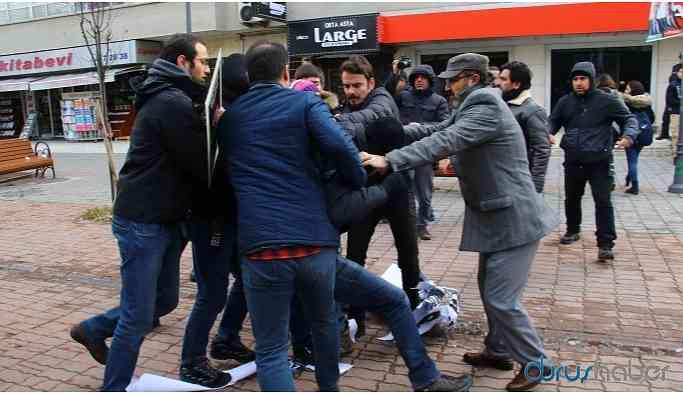 Ankara İSİG Meclisi'nin eylemine müdahale: 6 gözaltı