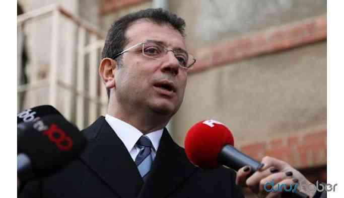 İBB Başkanı İmamoğlu'ndan 'Demirtaş' açıklaması
