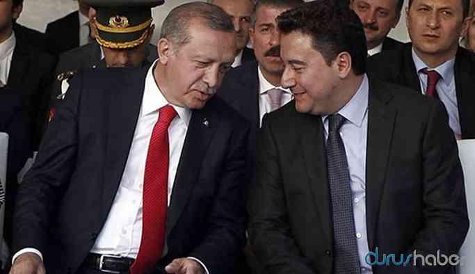 Erdoğan'dan Babacan'a sert çıkış!