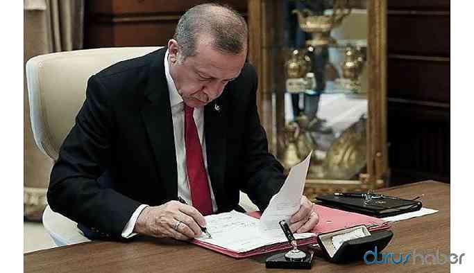 Erdoğan'dan yeni atamalar! Çok sayıda isim görevden alındı!